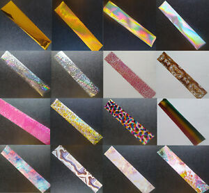 20cm Nail Art Wrap Foils Transfer Glitter Sticker Decal Decoration Holographic