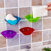 Double Suction Cup Sink Sponge Holder Kitchens Drying Rack Storage Organizer New