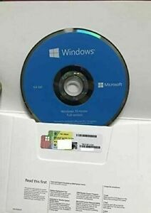 WlNDOWS 10 Home x64 bit & Genuine Product Key Sticker NEWEST VERSION