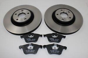 Original Brake Discs + Brake Pads Front Ford Focus 2,5 St MK2 1770767+ 1464435