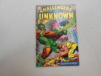Challengers of the Unknown #56! (1967, DC)! VG4.0+! Silver age DC beauty! LOOK!