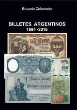 ARGENTINA BANKNOTE PAPER MONEY NEW CATALOG CATALOGUE 2016 BILLETES ARGENTINOS