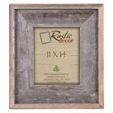 "11x14 - 4"" Wide Premium Reclaimed Rustic Barn Wood Wall Frame"
