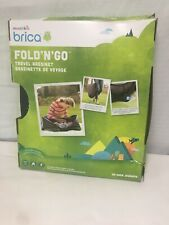 Munchkin Brica Fold n Go Travel Bassinet No Assembly Required Breathable