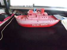 RARE Vintage IDEAL Playset Polar Queen WHALING Fishing Boat Vessel TOY SET
