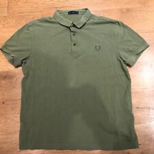 """Fred Perry Polo Shirt Laurel Wreath Collection Green 40"""""""