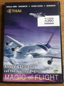 Thai Airbus A380-800 Magic Of Flight DVD Bangkok Hong Kong