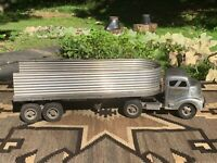Antique Smith and Miller Toy Semi Truck