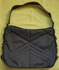 Oakley brown flight bag shoulder bag large quilted nylon tote bag travel bag