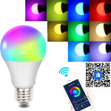 NEW Smart Light Bulb WiFi Wireless App Remote Control for Google Home/Alexa UK C