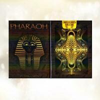 Pharaoh Playing Cards Limited Edition Foil Case Ancient Egypt