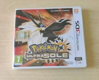 POKEMON ULTRASOLE NINTENDO 3DS 2DS ITALIANO COME NUOVO COMPLETO DI MANUALI