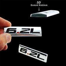 Triple Chrome 6.2L Emblem Badge Fits Hood Fender Door Trunk Interior 1pc LT1