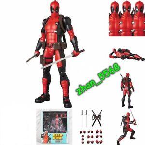 Mafex No. 082 Deadpool Gurihiru Art Ver. PVC Action Figure New In Box