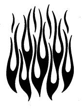 high detail airbrush stencil hot rod flames   FREE UK POST