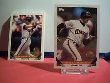 San Francisco Giants 28 Tarjetas Set 1993 Topps Inagural Marlins Will Clark