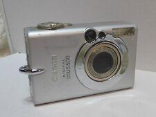 Canon Ixus 500 digital camera 5.0 mega pixels  UNTESTED AS NO BATTERY
