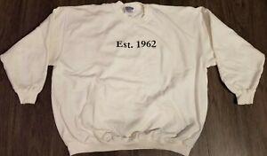 White Sweatshirt - Est. 1962