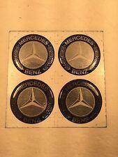 Wheel Center Emblem Set for Mercedes Benz 49mm in diameter -NEW- #22A