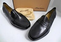 New Santorini 14 D Addison Black Leather Dress Loafers Italy