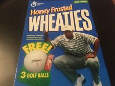 Tiger Woods Golf Wheaties Box Front
