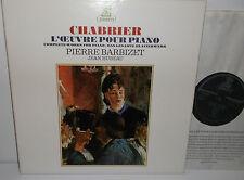 Stu 714983 Chabrier obras completas para piano Pierre Barbizet 3LP Box Set
