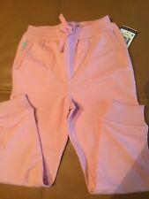 RALPH LAUREN GIRLS Cyclamen pink with Pony light fleece PANTS Sz 5 NWT $35.