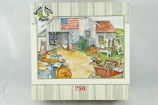 """Gooseberry Patch """"BARN SALE"""" Country Americana -  750 Pc Puzzle / Complete"""