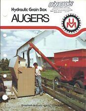 Farm Equipment Brochure - Um - Ag-12 14 Hydraulic Grain Box Auger - 1981 (F5903)