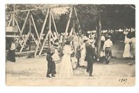 Women Men Witzel's Point View Park College Point NY 1907 Vintage Postcard AF224