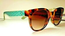 Women's Panama Jack Driver Way Style PJL18 Sunglasses Tortoise w Aqua Stem