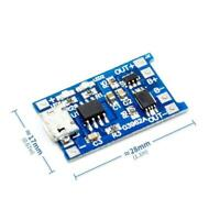 5 stücke 5 v micro usb 1a 18650 lithium-batterie lade board ladegerät modul powe