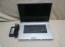 Toshiba Qosmio G15-AV501 Laptop Pentium M 1.8ghz 512MB RAM DVDRW No HDD
