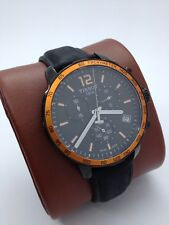 TISSOT QUICKSTER CHRONOGRAPH MEN'S QUARTZ  WATCH (MINT CONDITION) SERVICED