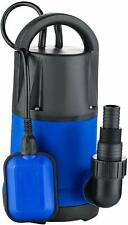 1 HP Sump Pumps Submersible Water Pump Electric Transfer Water Pump for Pool