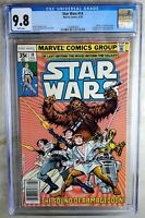 Star Wars #14 Marvel 1978 NEWSSTAND CGC 9.8 NM/MT White Pages Comic P0081
