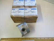 "4 PCS FORD 1987/1989 4CYL. 1.9L CFI ENG. ""PISTON+PIN"" 50MM/.020"" OVER SIZE, RARE"