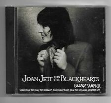 Joan Jett & The Blackhearts CD College Sampler 9 track promo The Runaways