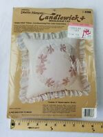 "VTG 1984 Paragon #8368 ""Grape Arbor"" Candlewicking Embroidery Pillow Kit"