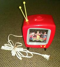 Vintage 1994 Mighty Morphin Power Rangers Red T.V. Projector light Tested Works