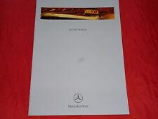 MERCEDES W202 W210 W220 Vito W638 Taxi Programm Prospekt von 1999