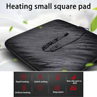Car Heated Seat Chair Cushion Hot Cover 12v Heater Warmer Pad USB Power