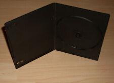 50 DVD Hüllen Case Slim 1fach DVDhülle Hülle Slimm dünn 7mm 190 x 135 x 7 Neu