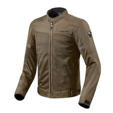 Giacca moto vintage scrambler Rev'it Revit Eclipse marrone jacket estiva summer