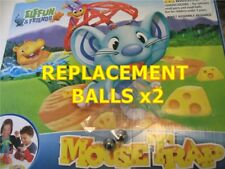 HASBRO ELEFUN MOUSETRAP GAME : 2x Replacement Spare Steel Balls Bearings + bag