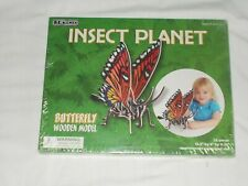 BC Bones Insect Planet Butterfly Wooden Model BRAND NEW SEALED