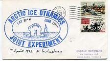 ARCTIC ICE DYNAMICS Joint Experiment Barrow Alaska AIDJEX Polar Antarctic Cover