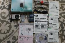 Canon PowerShot Digital ELPH SD1000 7.1MP Digital Camera - Silver W Bundle