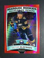 2019-20 O-Pee-Chee OPC Platinum Victor Olofsson Rookie Red Prism /199