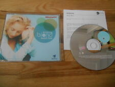 CD Pop Christine Blond - Teach Him (2 Song) Promo WEA EASTWEST sc Presskit